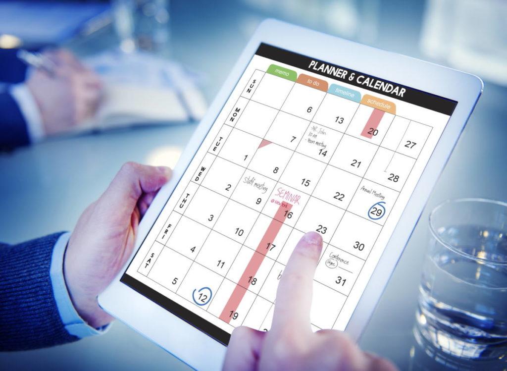 Le calendrier en ligne pour mieux gérer les ventes